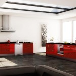 cuisine-brillante-rouge